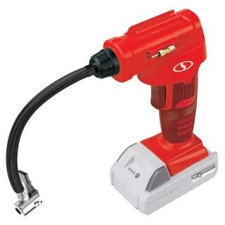 Sun Joe 24V-AJC-LTE-RED 24V Pro Digital Cordless Air Compressor - Red