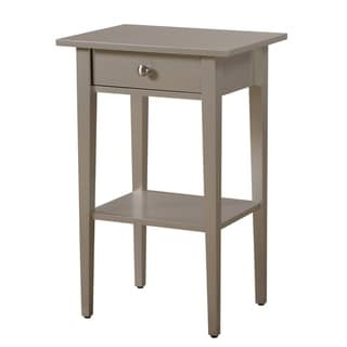 Glory Furniture Dalton 1-drawer and Shelf Wooden Nightstand in Cherry (As Is Item)