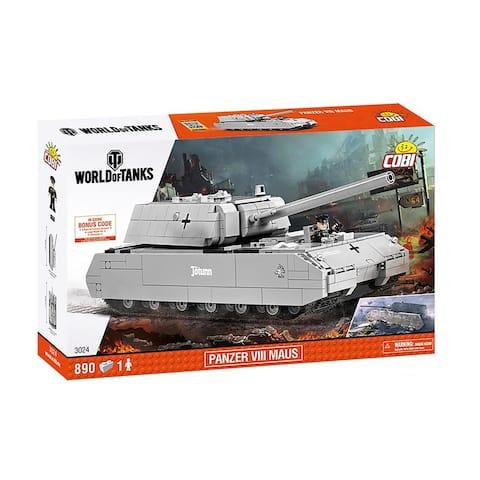 COBI Small Army Panzer VII Maus 890 Piece Building Kit