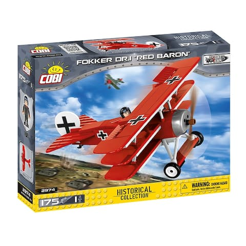 COBI Small Army Fokker Dr. 1 Red Baron 175 Piece Building Kit