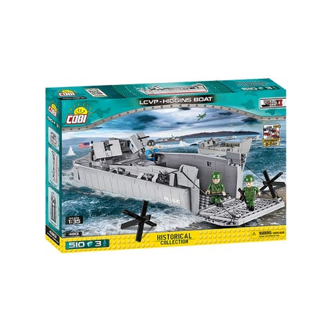 COBI Small Army WS D-DAY 500 Piece Construction Blocks Building Kit