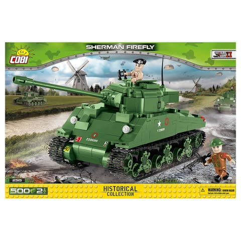 COBI Small Army Sherman Firefly 500 Piece Building Kit