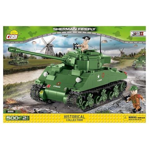 COBI Small Army Sherman Firefly 500 Piece Building Kit