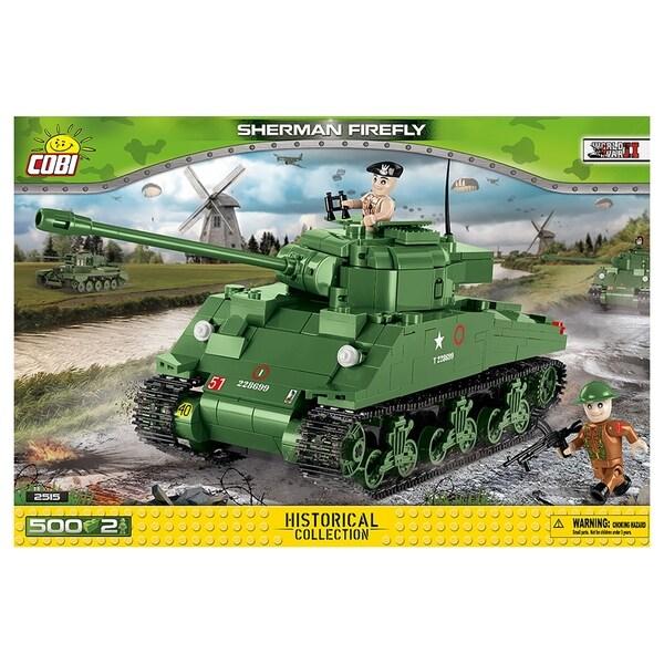COBI Small Army Sherman Firefly 500 Piece Building Kit. Opens flyout.