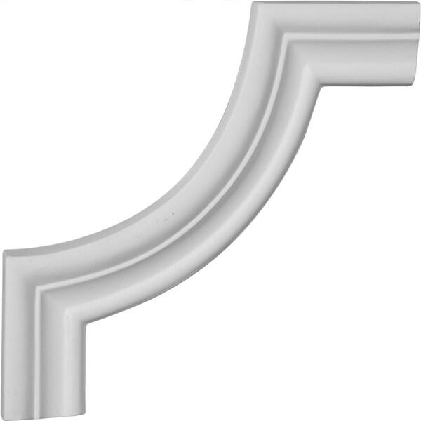 "6 5/8""W x 6 5/8""H Stockport Panel Moulding Corner (matches moulding PML01X00ST)"