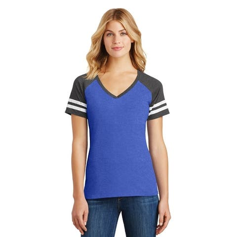 One Country United Women's Game V-Neck Tee