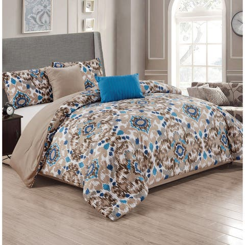 Lakewood 5-Piece Reversible Comforter Set