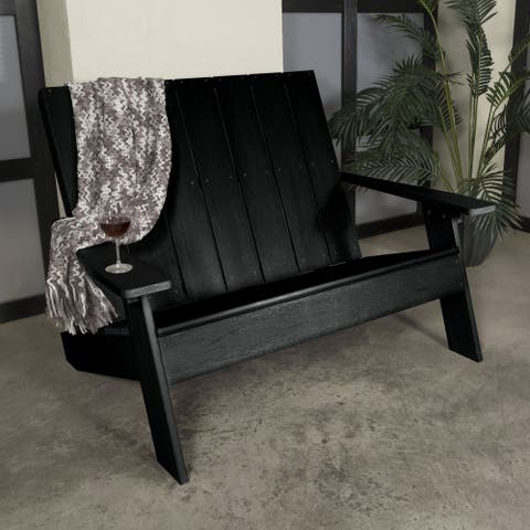 Bercelona Double Wide Modern Adirondack Chair