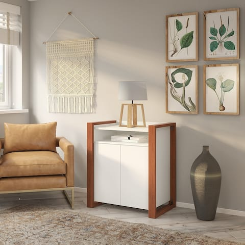 Voss 2 Door Storage Cabinet from kathy ireland Home by Bush Furniture