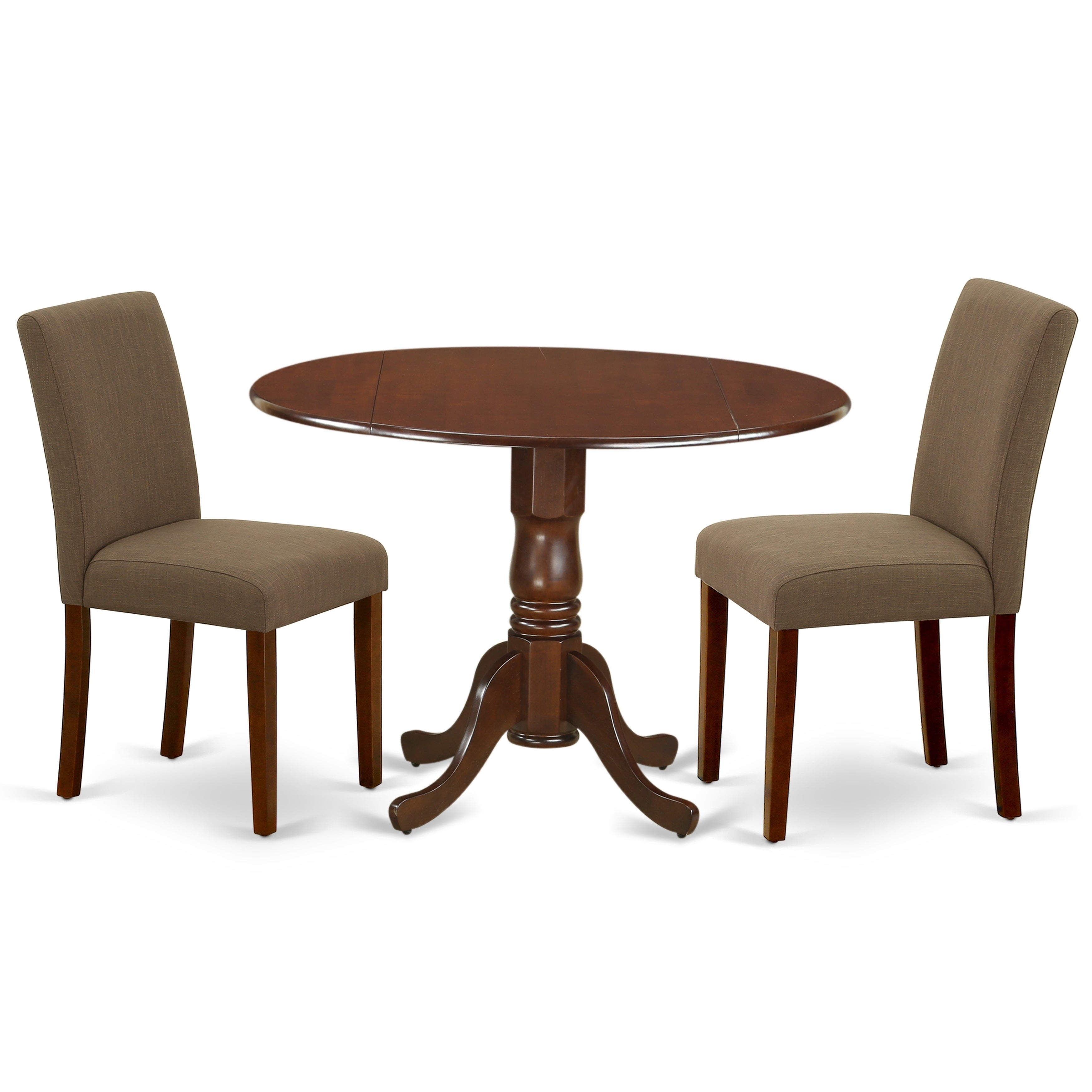 Round 42 Inch Table And Parson Chairs