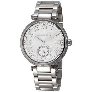Link to Michael Kors Women's MK5866 Skylar Silver Stainless Steel Bracelet Watch Similar Items in Women's Watches