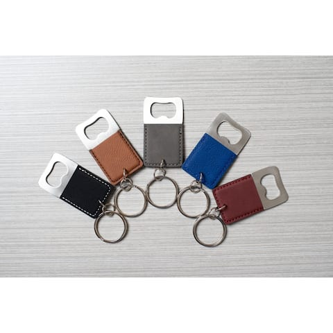Caddy Bay Collection Bottle Opener Keychain - 5 Colors