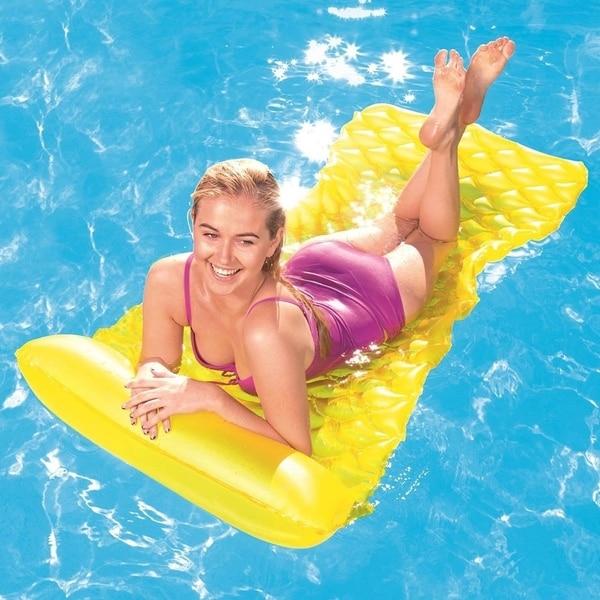 Bestway Float N Roll Air Mat - Yellow. Opens flyout.