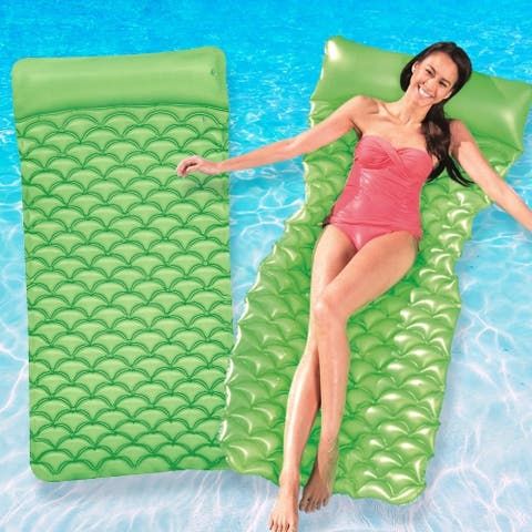 Bestway Float N Roll Air Mat 2 Pack - Green