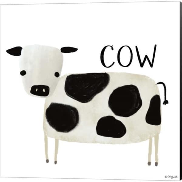 Katie Doucette 'Cow & Sheep' Canvas Art (Set of 2)