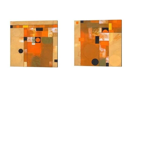 Deborah Colter 'Soleil' Canvas Art (Set of 2)