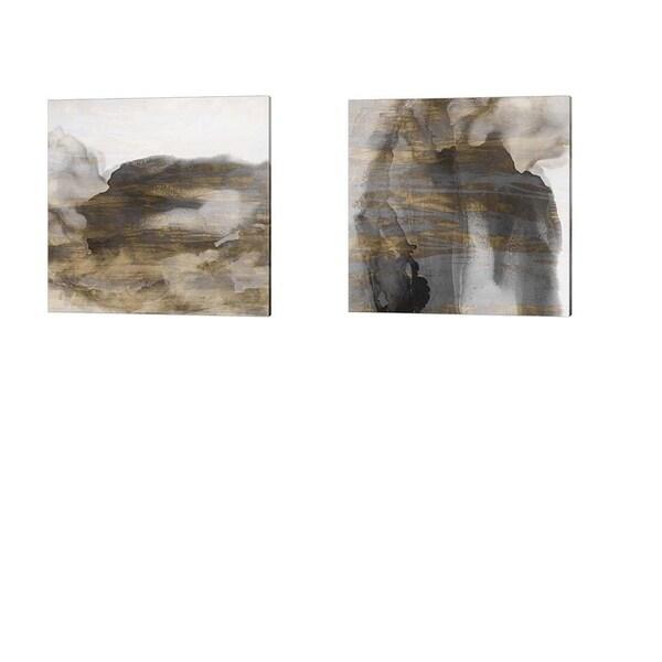 Sisa Jasper 'Surface' Canvas Art (Set of 2)