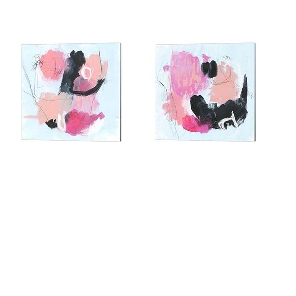 Jennifer Parker 'Sugar Rush' Canvas Art (Set of 2)
