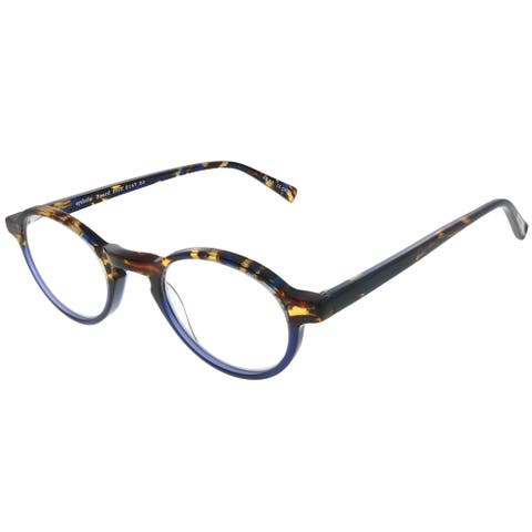 Eyebobs Board Stiff 2147 50 Unisex Blue Tortoise Frame +2.25 Reading Glasses 43mm