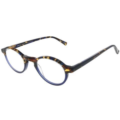 Eyebobs Board Stiff 2147 50 Unisex Blue Tortoise Frame +2.75 Reading Glasses 43mm