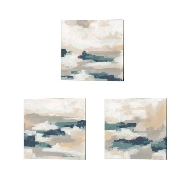 June Erica Vess 'Mesa Mist' Canvas Art (Set of 3)
