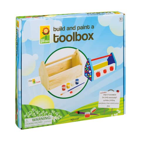 Beetle & Bee Garden - Build and Paint a Toolbox