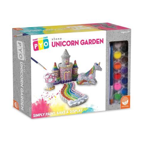 Paint Your Own Stone Unicorn Garden