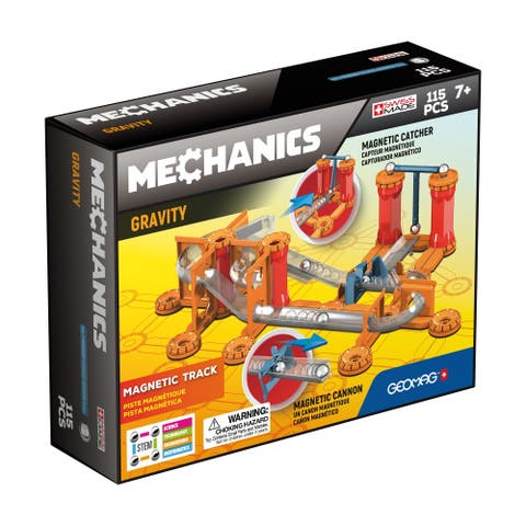 Mechanics Gravity Magnetic Track: 115 Pcs