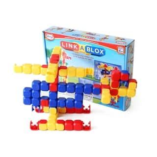 LinkaBlox Construction Toy: 60 Pcs