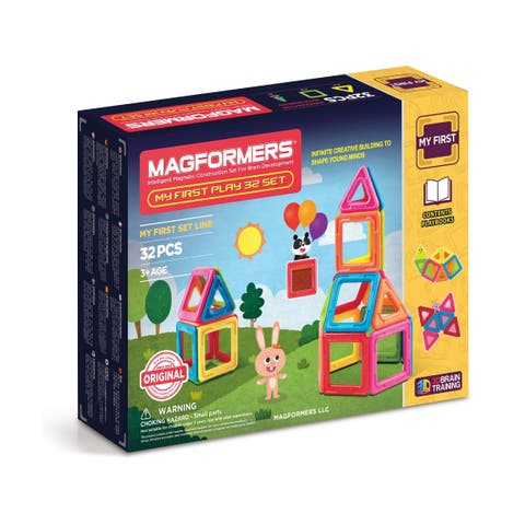 Magformers My First Play Set: 32 Pcs