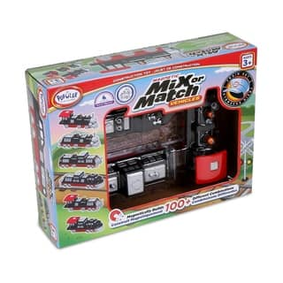 Magnetic Mix or Match Vehicles: Train Set