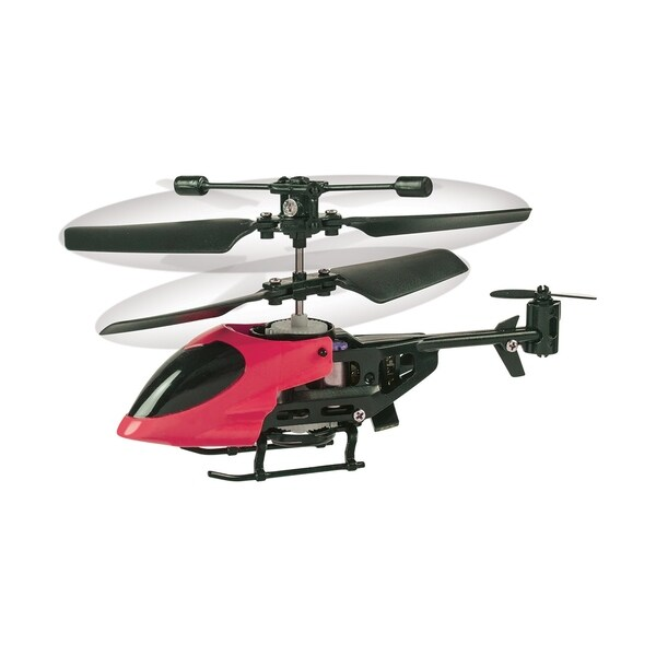World's Smallest R/C Helicopter. Opens flyout.