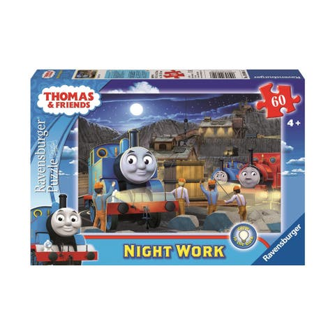 Thomas & Friends Glow in the Dark Puzzle - Night Work: 60 Pcs