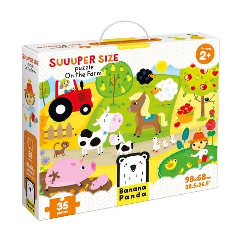 Suuuper Size Puzzle - On the Farm: 35 Pcs