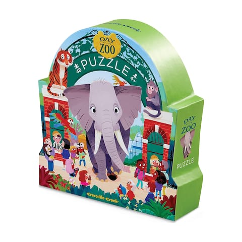 Day at the Zoo Puzzle: 48 Pcs