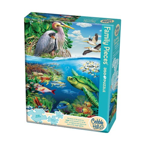 Family Pieces Puzzle - Earth Day: 350 Pcs
