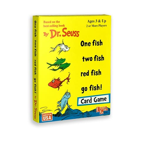 Dr. Seuss - One Fish, Two Fish, Red Fish, Go Fish! Card Game
