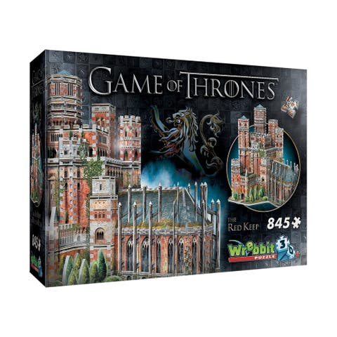 Game of Thrones - The Red Keep 3D Puzzle: 845 Pcs