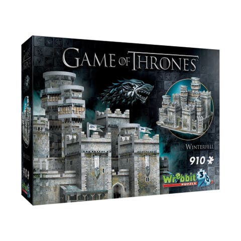 Game of Thrones - Winterfell 3D Puzzle: 910 Pcs
