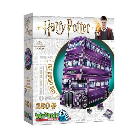 Harry Potter Collection - The Knight Bus 3D Puzzle: 280 Pcs