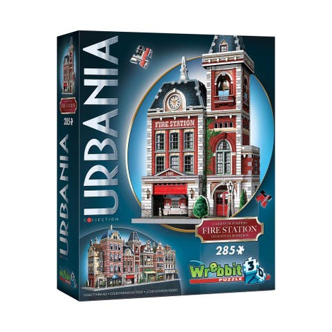 Urbania Collection - Fire Station 3D Puzzle: 285 Pcs