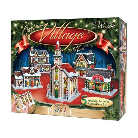 Christmas Village 3D Puzzle: 116 Pcs