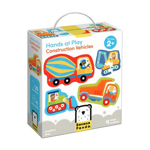 Hands at Play - Construction Vehicles: 22 Pcs