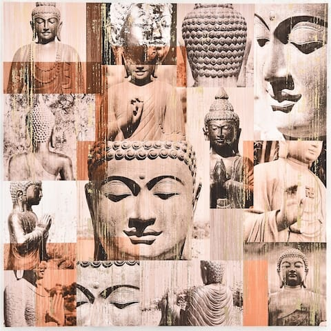 Modern Zen Buddha Wall Art