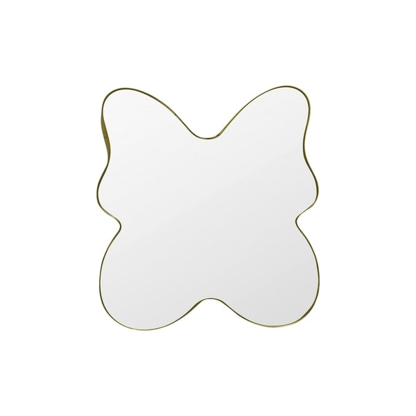 Flutter Gold Butterfly Mirror