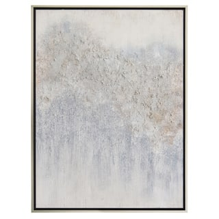 """29.5 """" Blue Painting W/Frame-Oil On Canvas"""