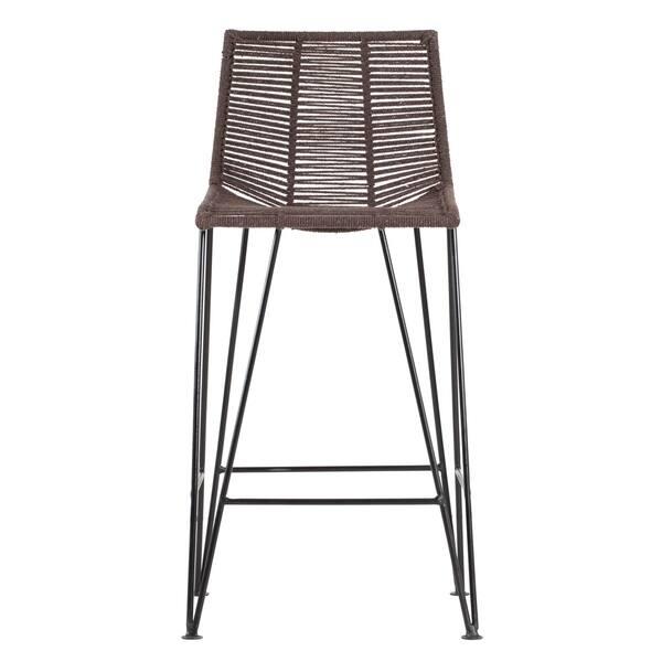Magnificent Shop Madeleine Home Odette Bar Stool 18 Length X 18 Ibusinesslaw Wood Chair Design Ideas Ibusinesslaworg