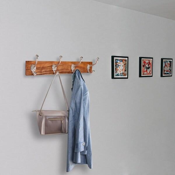 Home Decorative Interesting Door Coat Towel Single Hook Wooden Wall