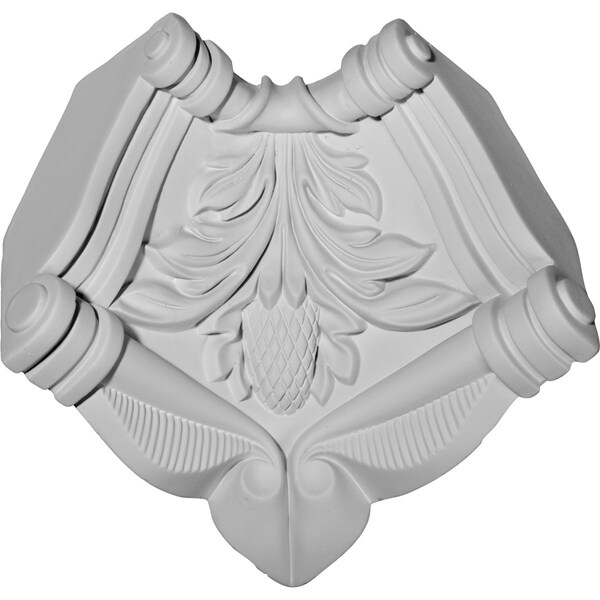 """3 1/2""""H x 2 7/8""""P, Modena Inside Corner Moulding (matches moulding MLD05X05X07AT)"""