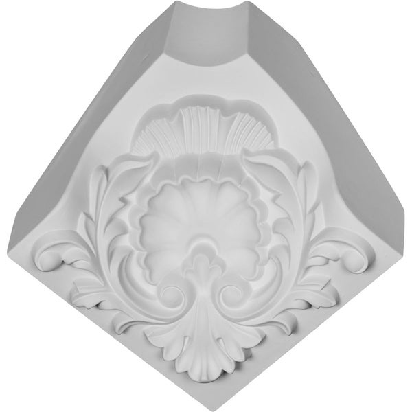 "5 7/8""H x 5 7/8""P x 8 1/4""F Shell Crown Moulding (matches moulding MLD02X03X04EG)"